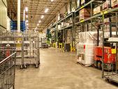 Warehouse recieving area — Stock Photo