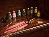 Veer pen en potten — Stockfoto