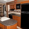 Stock Photo: Recreational vehicle interior