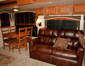 Recreational vehicle interior — Stockfoto
