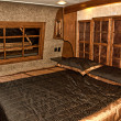 Bedroom in recreational vehicle — Foto de stock #38874031