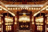 Carousel ışıklar — Stok fotoğraf