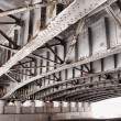 Stock Photo: Under bridge