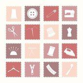 缝纫图标 — 图库矢量图片