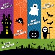 Halloween banners — Stock Vector #32808525