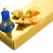 Stock Photo: Gift box with bell