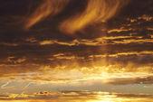 Sunset sky-2 — Foto Stock