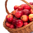 Basket with apple - 3 — Stock Photo #14709537