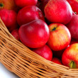 Basket with red apples - 2 — Stock Photo #14709571