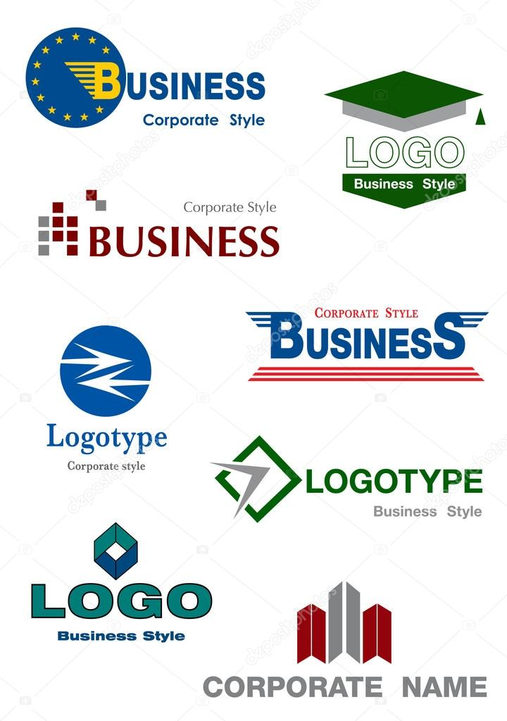 Collection of identity symbol for your company. Business concept  Stock Vector #14731401