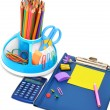 School suppliies — Stock Photo #12270002