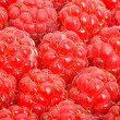 Sweet ripe raspberries — Stockfoto