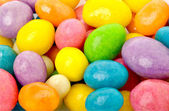 Many-colored sweet bright dragee — Stock Photo