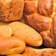Fresh bread closeup — Stock Photo
