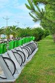 Parking pour vélos — Photo