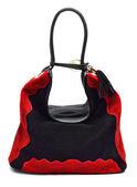 Suede women bag — Foto de Stock