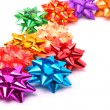 Stock Photo: Many colored bright bows