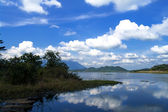 O lago perdido. — Foto Stock
