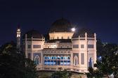 Medan's Great Mosque at Night. — Foto de Stock