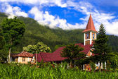 Catholic Church Samosir Island. — Stock Photo