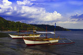 Filipino Boats of Subic Bay. — Stock Photo
