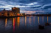 Sundown in Phan Thiet City. — Foto de Stock