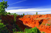 Red Canyons. — Stock Photo