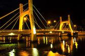 Bridges of Phan Thiet City. Low Tide. — Stock Photo