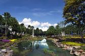 Nong Nooch Garden Landscape. — Stockfoto