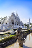 Before White Temple. — Stockfoto