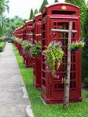 Telefon kulübesi. — Stok fotoğraf