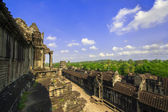 View from Angkor Wat. — Stock Photo