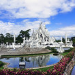 Постер, плакат: White Temple and Ponds