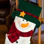 Vánoční punčocha — Stock fotografie
