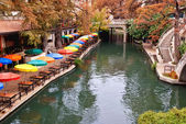 River Walk in San Antonio Texas — Foto Stock