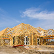 New home construction framing — Stock Photo #20244917
