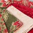 Quilting fabrics in different colors and patterns — Photo