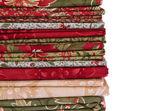 Tecidos colchas — Foto Stock