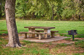 Picnic area in the park — Photo