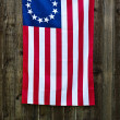 13 Star American flag, the Betsy Ross flag — Stock Photo #27891321