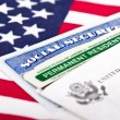 Social security and permanent resident card — Stock Photo #28288503