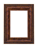 Vintage bronze picture frame — Stock Photo
