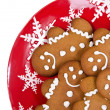 Gingerbread man cookies — Stock Photo