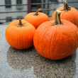 Assorted pumpkins in preparation for Halloween — Stock Photo #14059943