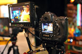 NEW YORK - OCTOBER 26: New Photo gear showing at the PDN PhotoPlus Expo is the largest photography show in North America, was held at the Jacob K Javits Convention Center on New York — Stock Photo
