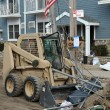 QUEENS, NY - NOVEMBER 11: U.S. Navy working on the streets ater massive destruction in the Rockaway Beach area due to impact from Hurricane Sandy in Queens, New York, U.S., on November 11, 2012. — Stock Photo #14807707