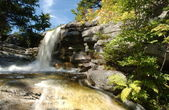 Waterfall at Kaatskils mountains upstate NY — Stock Photo