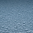 Drops of water on the metal surface — Stock Photo #17020065