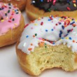 Fresh and tasty donuts — Stock Photo #17027053