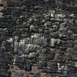 Stock Photo: Burnt wood texture